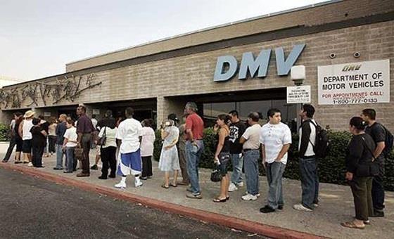 DMV is terrible